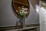 colourful-vase-flowers-Belvedere-Hotel-Dublin-bedroom-corridor