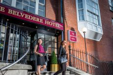 Front of Belvedere Hotel Dublin City