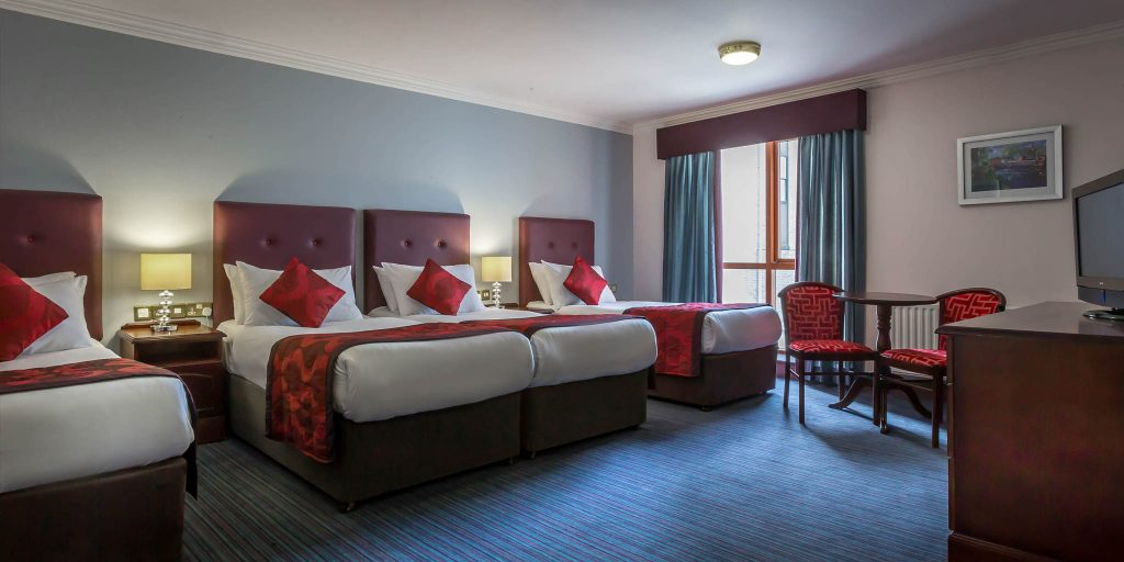 Quadruple Hotel Room Group Hotel Accommodation Dublin